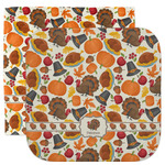 Traditional Thanksgiving Facecloth / Wash Cloth (Personalized)