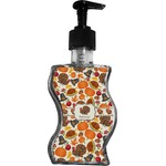 Traditional Thanksgiving Wave Bottle Soap / Lotion Dispenser (Personalized)