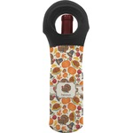 Traditional Thanksgiving Wine Tote Bag (Personalized)