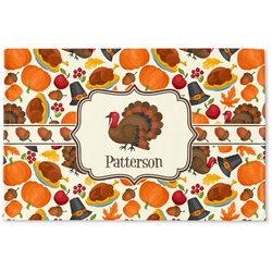 Traditional Thanksgiving Woven Mat (Personalized)