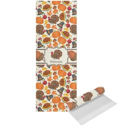 Traditional Thanksgiving Yoga Mat - Printed Front (Personalized)