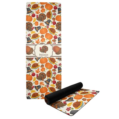 Traditional Thanksgiving Yoga Mat (Personalized)