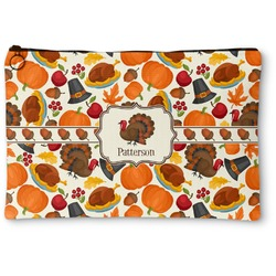 Traditional Thanksgiving Zipper Pouch (Personalized)
