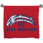 DHS Star & Stripes Full Print Bath Towel (Personalized)