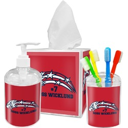 DHS Star & Stripes Bathroom Accessories Set (Personalized)
