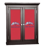 DHS Star & Stripes Cabinet Decal - Custom Size (Personalized)