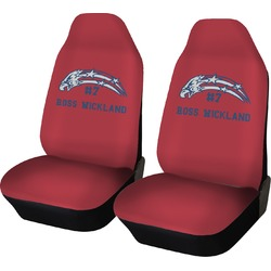 DHS Star & Stripes Car Seat Covers (Set of Two) (Personalized)