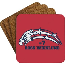 DHS Star & Stripes Coaster Set (Personalized)
