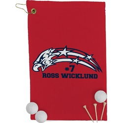 DHS Star & Stripes Golf Towel - Full Print (Personalized)