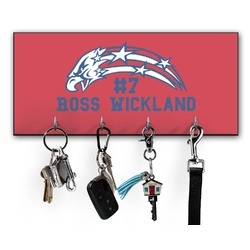 DHS Star & Stripes Key Hanger w/ 4 Hooks (Personalized)