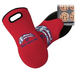 DHS Star & Stripes Neoprene Oven Mitt (Personalized)