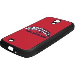 DHS Star & Stripes Rubber Samsung Galaxy 4 Phone Case (Personalized)
