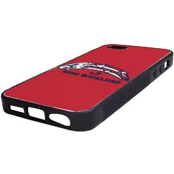 DHS Star & Stripes Rubber iPhone 5/5S Phone Case (Personalized)