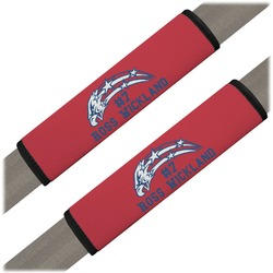 DHS Star & Stripes Seat Belt Covers (Set of 2) (Personalized)