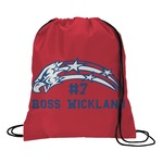 DHS Star & Stripes Drawstring Backpack (Personalized)