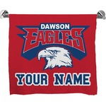 DHS Logo Full Print Bath Towel (Personalized)
