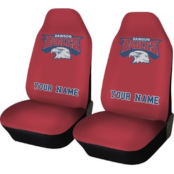 DHS Logo Car Seat Covers (Set of Two) (Personalized)