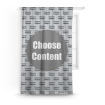 DHS Logo Curtain (Personalized)