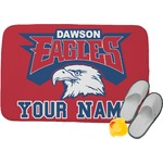 DHS Logo Memory Foam Bath Mat (Personalized)