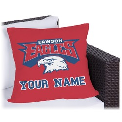 DHS Logo Outdoor Pillow (Personalized)