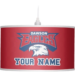 DHS Logo Drum Pendant Lamp (Personalized)