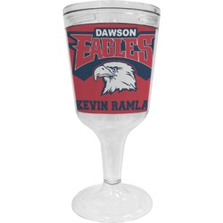DHS Logo Wine Tumbler (Personalized)