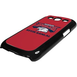 DHS Logo Plastic Samsung Galaxy 3 Phone Case (Personalized)