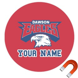 DHS Logo Round Car Magnet (Personalized)