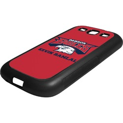 DHS Logo Rubber Samsung Galaxy 3 Phone Case (Personalized)
