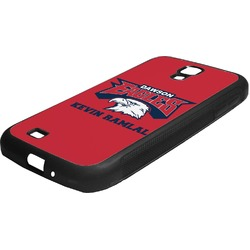 DHS Logo Rubber Samsung Galaxy 4 Phone Case (Personalized)