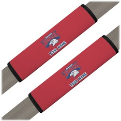 DHS Logo Seat Belt Covers (Set of 2) (Personalized)