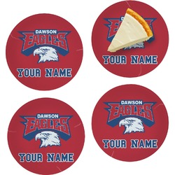 DHS Logo Set of Appetizer / Dessert Plates (Personalized)