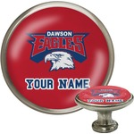 DHS Logo Cabinet Knob (Silver) (Personalized)