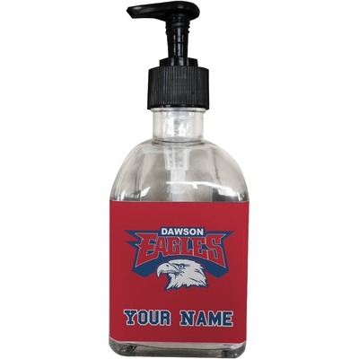 DHS Logo Soap/Lotion Dispenser (Glass) (Personalized)