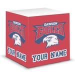 DHS Logo Sticky Note Cube (Personalized)