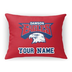 DHS Logo Rectangular Throw Pillow (Personalized)