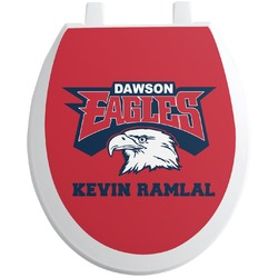 DHS Logo Toilet Seat Decal (Personalized)