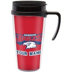 DHS Logo Travel Mug with Handle (Personalized)