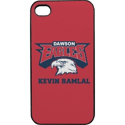 DHS Logo Plastic 4/4S iPhone Case (Personalized)