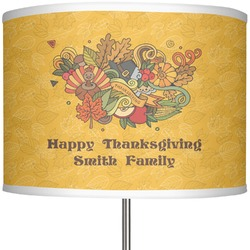 "Happy Thanksgiving 13"" Drum Lamp Shade (Personalized)"