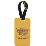 Happy Thanksgiving Aluminum Luggage Tag (Personalized)