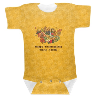 Happy Thanksgiving Baby Bodysuit (Personalized)