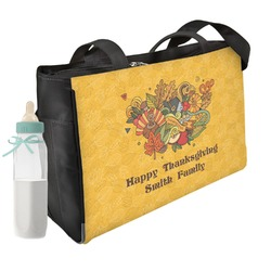 Happy Thanksgiving Diaper Bag (Personalized)