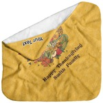 Happy Thanksgiving Baby Hooded Towel (Personalized)