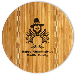 Happy Thanksgiving Bamboo Cutting Board (Personalized)