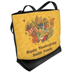 Happy Thanksgiving Messenger Bag Personalized