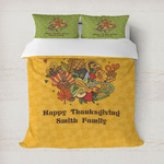 Happy Thanksgiving Duvet Cover (Personalized)