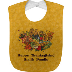 Happy Thanksgiving Baby Bib (Personalized)