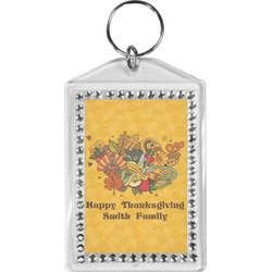 Happy Thanksgiving Bling Keychain (Personalized)