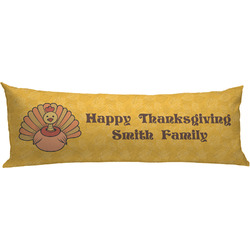 Happy Thanksgiving Body Pillow Case (Personalized)